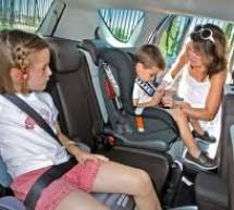 Cinco tips de seguridad al viajar con niños en automóvil